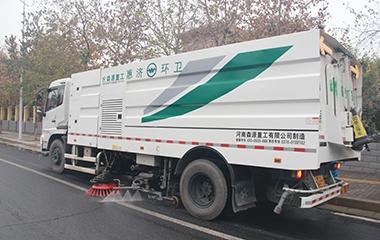 智慧环卫之道路机扫保洁方案